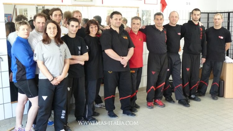 Sifu Giò in Germania